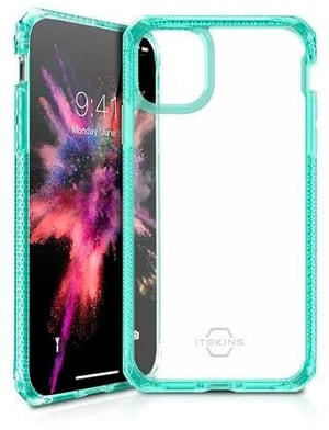 Hard Cover HYBRID CLEAR tiffany green transparent