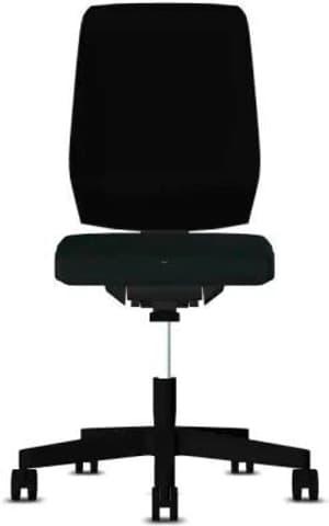 Chaise bureau 68-3519 68-3519 noir, sans accoudoir