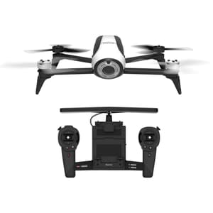 Parrot Bebop 2 Drohne weiss mit Skycontr
