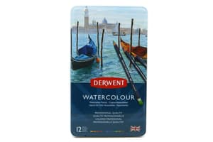 12 Derwent Watercolor Aquarellstifte