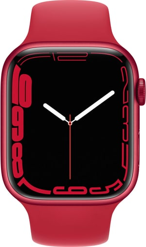 Watch Series 7 GPS, 45mm RED Aluminium Case with Sport Band