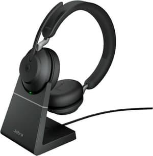 Evolve2 65 - USB-A MS Teams Stereo et socle de chargement