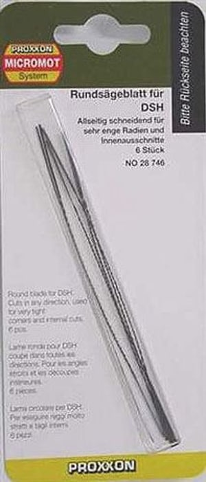 Proxxon Proxxon Lame a taglio 6 pezzi