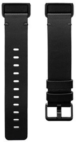 Charge 4 Bracelet Cuir Black L