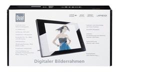 Dual PV 8-1 noire Cadre Photo numérique