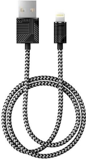 "Câble 1.0m, Lightning->USB  ""Geometric Puzzle"""