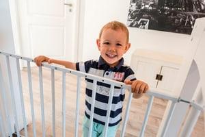 Tür- und Treppengitter weiss Tim