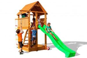 Spielturm mit Rutsche FORTI
