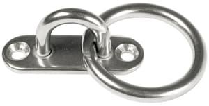 Platte mit Ring 15 X 45 mm