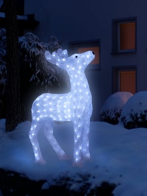LED Acryl Rentier 60 cm