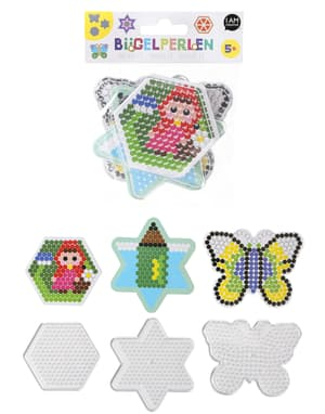 Stiftplatten, Stern, Hexagon, Schmetterling