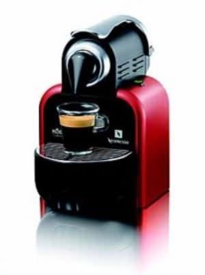 Nespresso König Capri Automatic Cherry Kapselmaschine