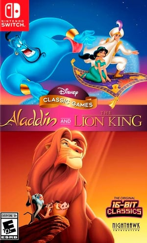 NSW - Disney Classic Games Aladdin and The Lion King D