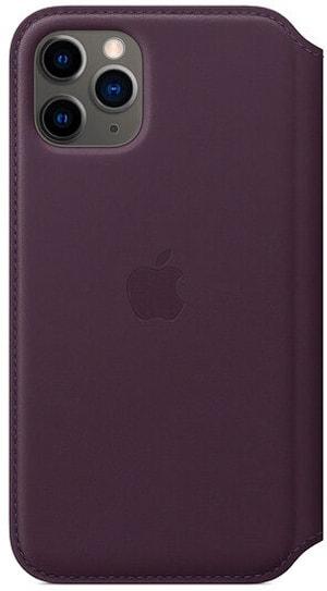 iPhone 11 Pro Leather Folio Aubergine