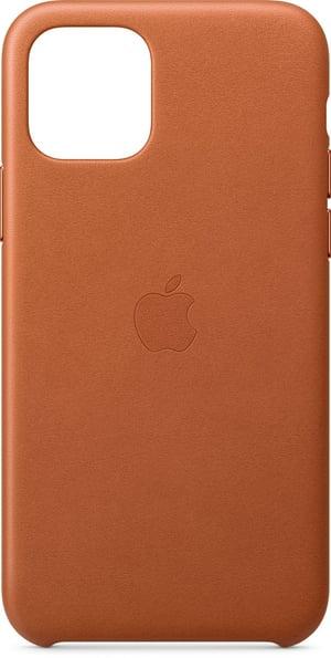 iPhone 11 Pro Leather Case Sattelbraun