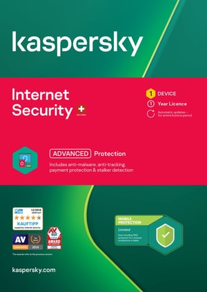 Internet Security (1 PC) [PC/Mac/Android] (D/F/I)