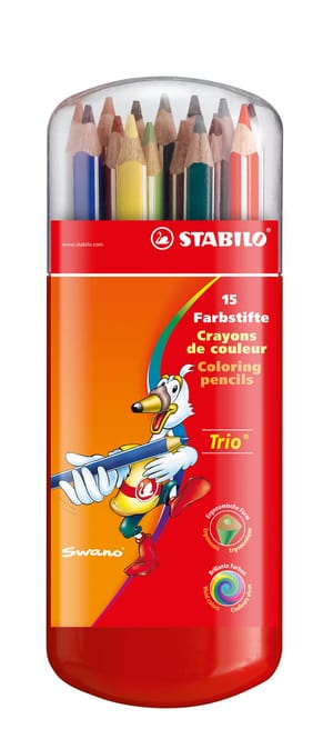 Crayon de couleur triangulaire Trio® dick