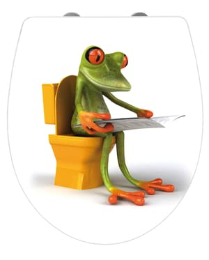 Sedile WC Frog News