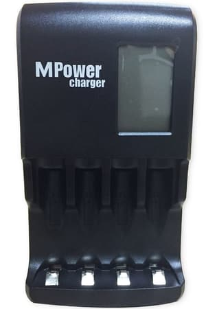 Charger con LCD (NiMH)