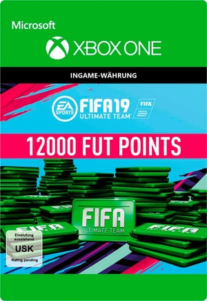 Xbox One - Fifa 19 Ultimate Team 12000 Points