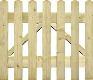Cancello  per steccato a listelli
