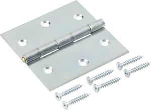Scharnier mit Schraube verzinkt 50 x 50 mm