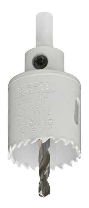Scies trépans HSS bi-métal 40 mm