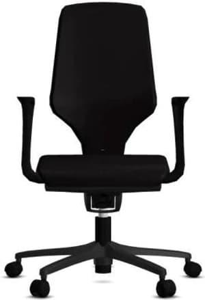 Chaise bureau 64-3578 64-3578 noir, avec accoudoir