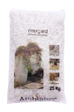 Ghiaia Bianco Carrara 25 kg tamburato