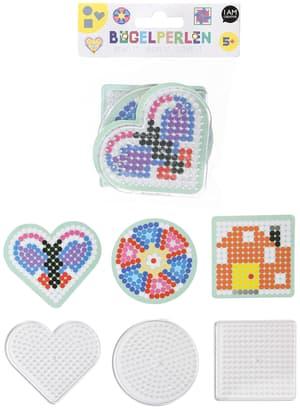 Stiftplatten, Herz, Quadrat, Kreis