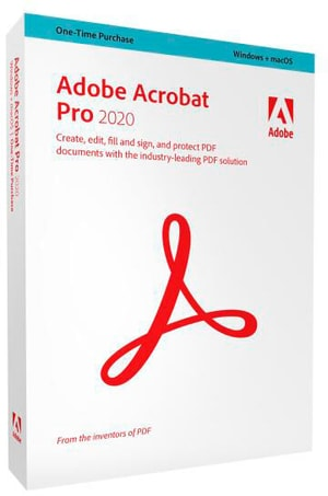 Acrobat Pro 2020 Boîte, WIN/MAC (D)