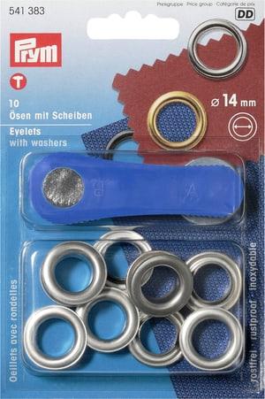 Occhielli con rondelle Ø 14mm