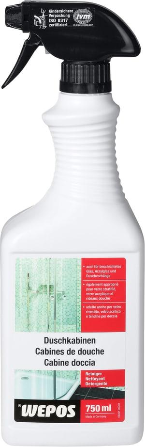 Detergente per cabine da doccia
