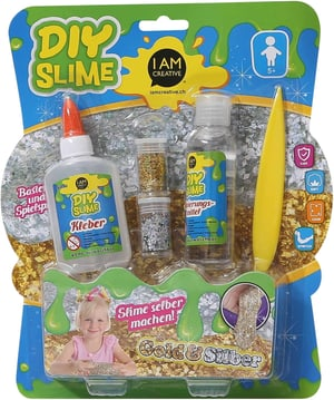 SLIME Set DIY, 7 pcs.