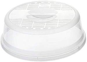 BASIC Mikrowellenabdeckhaube, Kunststoff (PP) BPA-frei, transparent