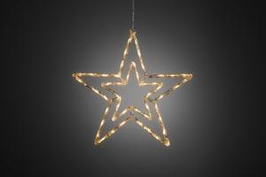 LED Acryl Stern mit Memoryfunktion