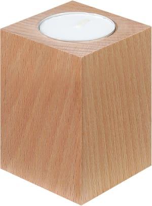 Supports en bois FSC® pour bougies chauffe-plat