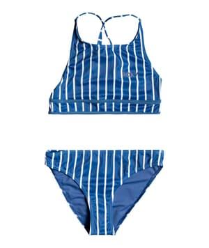 Perfect Surf Time - Completo bikini con top accorciato