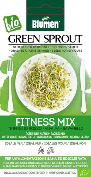 Sementi Germogli Fitness Mix 40g