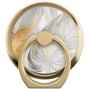 Selfie-Ring Platinum Leaves