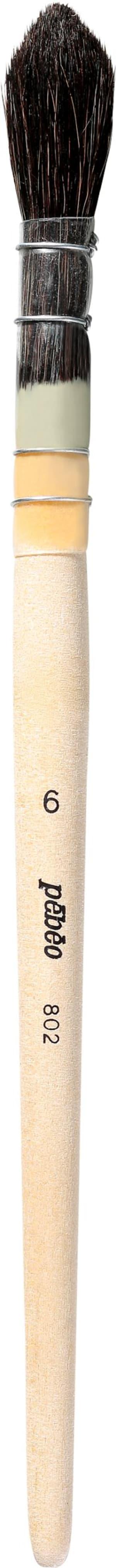 Pinsel Nr. 6 gemischtes Fehhaar