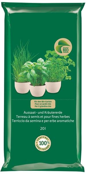 Terriccio da semina e per erbe aromatiche, 20 l