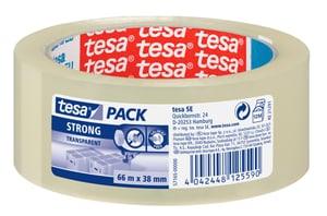 tesapack® strong 66m:38mm transparent
