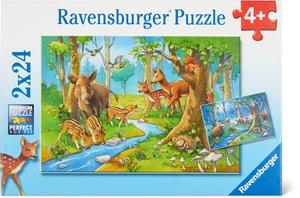 Tiere des Waldes Puzzle