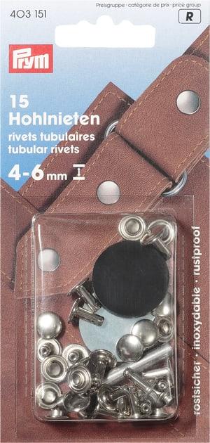 Rivets tubulaires 4-6mm