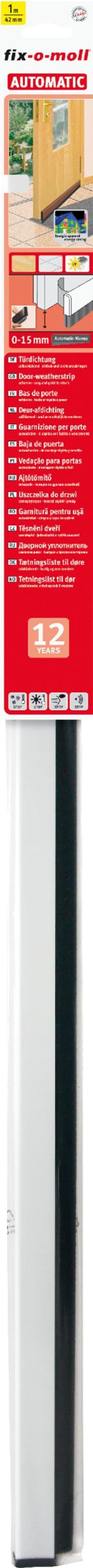 Guarnizione porta Automatic bianco, 1 m