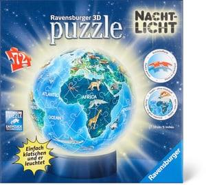 Puzzle 3D Erde Nachtlicht
