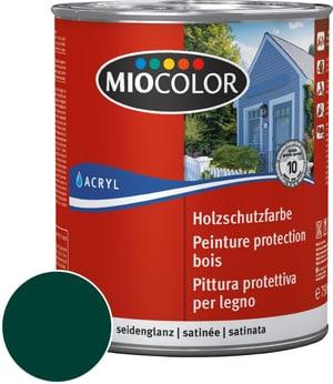 Pittura protettiva per legno Verde muschio 750 ml