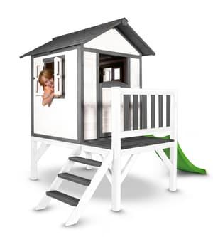 Kinderspielhaus Lodge XL, weiss/grau