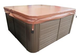 Whirlpool-Abdeckung 195x140 cm